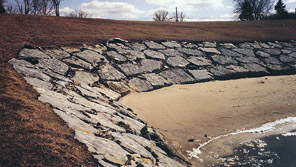 lakefront erosion control