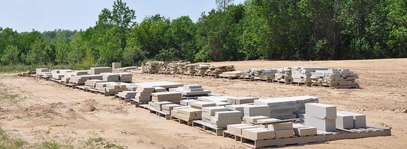 sandstone stoneyard