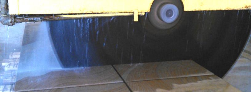 sandstone sawing