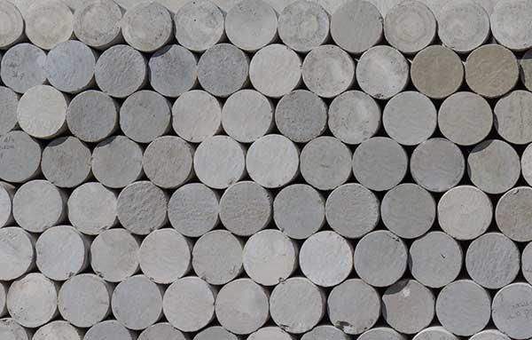 sand stone petroleum cores